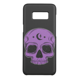 Classic Skull (purple) Case-Mate Samsung Galaxy S8 Case