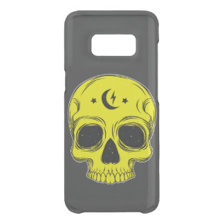 Classic Skull (yellow) Get Uncommon Samsung Galaxy S8 Case