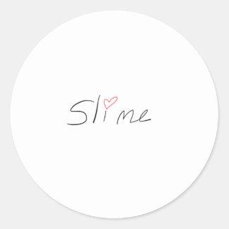 Classic Slime Sticker, Glossy, Small, 1½ inch Classic Round Sticker