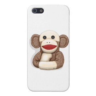 Classic Sock Monkey Cover For iPhone 5/5S