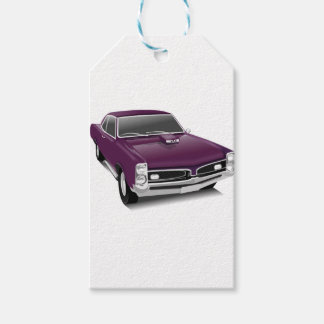 Classic Sports Car Gift Tags