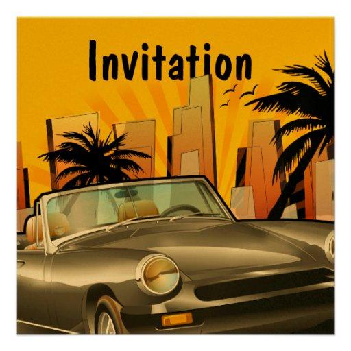 Classic sports car custom announcements