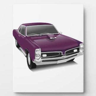 Classic Sports Car Plaque