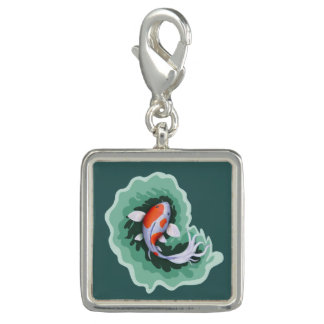 Classic Spotted Koi Fish Charm