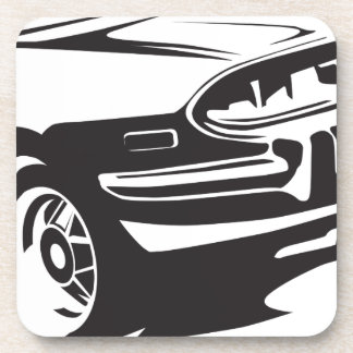 Classic Stag detail Coaster