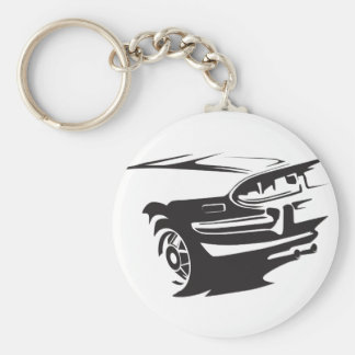 Classic Stag detail Keychain