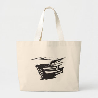Classic Stag detail Large Tote Bag