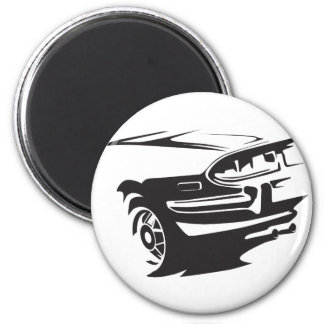Classic Stag detail Magnet
