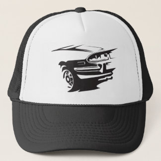 Classic Stag detail Trucker Hat