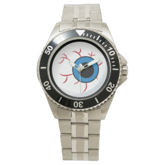 Classic Stainless Steel Eyeball Watch