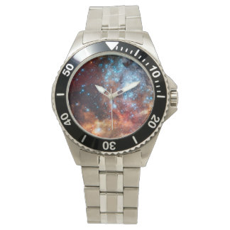 Classic Stainless Steel Star Nebula Watches