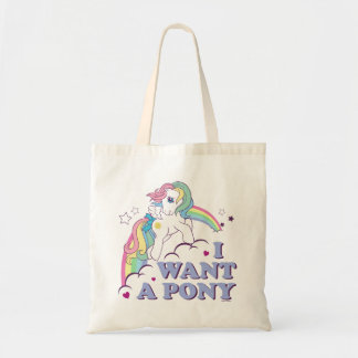 Classic Starshine | I Want A Pony Tote Bag