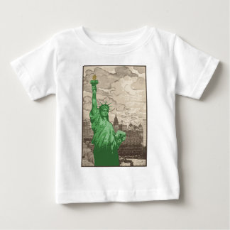 Classic Statue of Liberty Baby T-Shirt