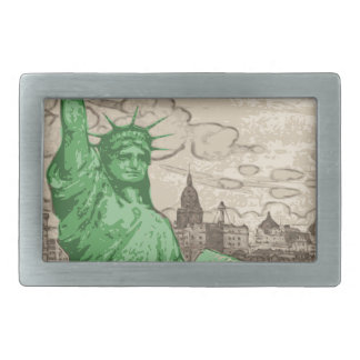 Classic Statue of Liberty Belt Buckles