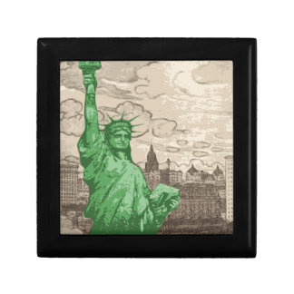 Classic Statue of Liberty Gift Box