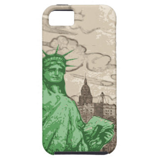Classic Statue of Liberty iPhone 5 Covers