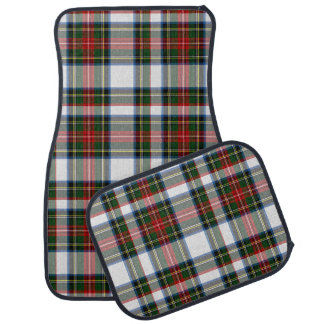 Classic Stewart Dress Plaid Car Mat Set