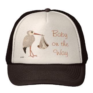 Classic Stork (Neutral) 2 (Baby Shower) Trucker Hat