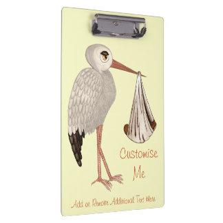 Classic Stork (Neutral) 2 Clipboard