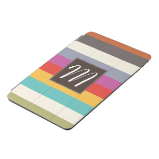 Classic Stripes Monogram iPad Mini Cover