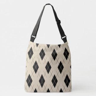 Classic-Style-Argyle-Totes_Bag''s_Multi-Style' Crossbody Bag