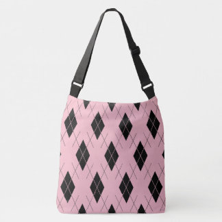 Classic-Style-Argyle-Totes_Bag''s_Multi-Style'-Pnk Crossbody Bag