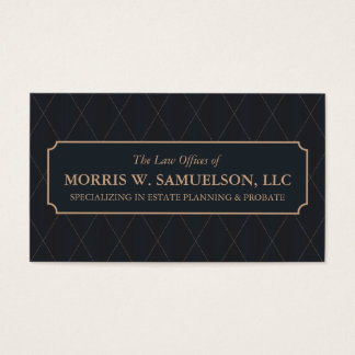 Classic Style Designer Business Card
