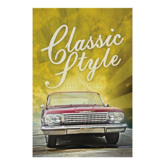 Classic Style Front Poster