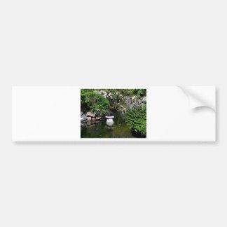 Classic Summer Garden Bumper Sticker