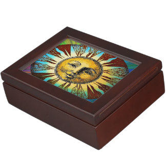 Classic Sun God keepsake box