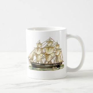 Classic Tall Ship Classic White Coffee Mug