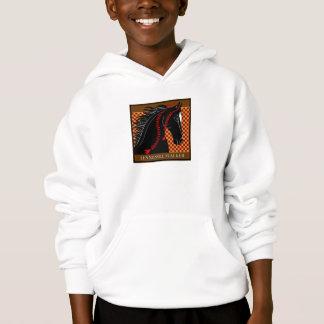 Classic Tennessee Walker Kids Hooded Sweatshirt