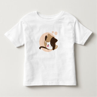 Classic Toddler T-Shirt Grooming Kitten