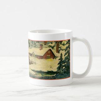Classic Tomten scene Coffee Mug
