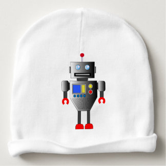 CLASSIC TOY ROBOT Baby Beanie