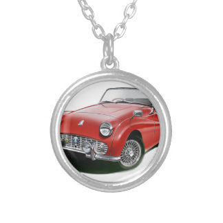 Classic TR3 Silver Plated Necklace