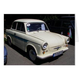 Classic Trabant Card