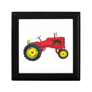 Classic Tractor Keepsake Box