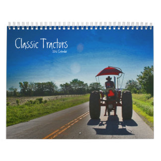 Classic Tractors Calendar: Customize the Year Wall Calendar