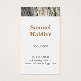 Classic Trendy Petrified Wood Business Cards