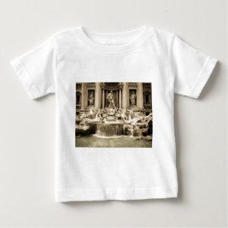 Classic Trevi Fountain, Rome Baby T-Shirt