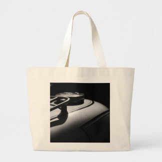 Classic Triumph Motorcycle Large Tote Bag