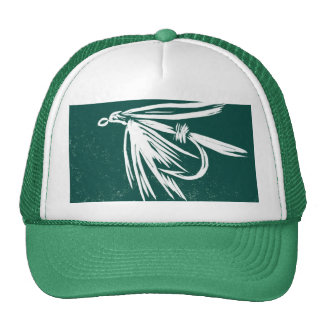 "Classic Trout Fly Hat ""Wet Fly Green"""