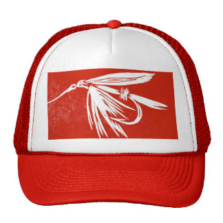 "Classic Trout Fly Hat ""Wet Fly Red"""
