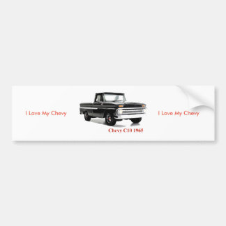Classic Truck image for Bumper Sticker