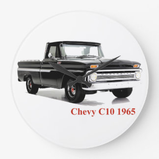 Classic Truck image for Round-Large-Wall-Clock Wall Clocks