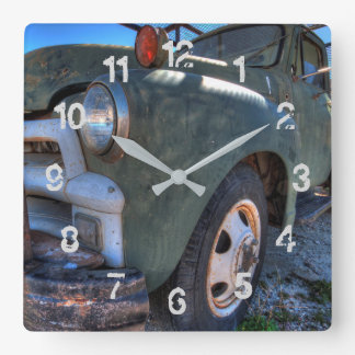 Classic Truck Numbered Wall Clock
