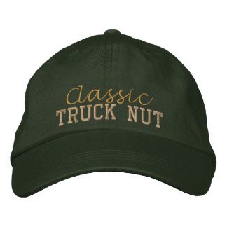 Classic Truck Nut Embroidered Cap