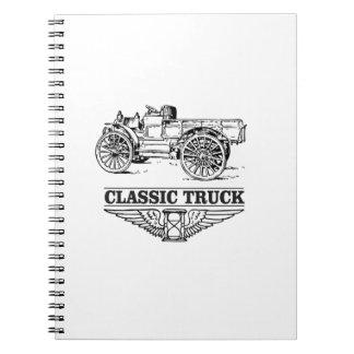 classic truck run note book