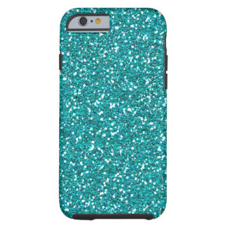 Classic Turquoise Print Tough iPhone 6 Case